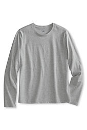 Girls' Long Sleeve Feminine Fit Basic T-shirt