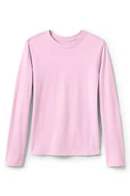 Little Girls Long Sleeve Fem Fit Essential Tee