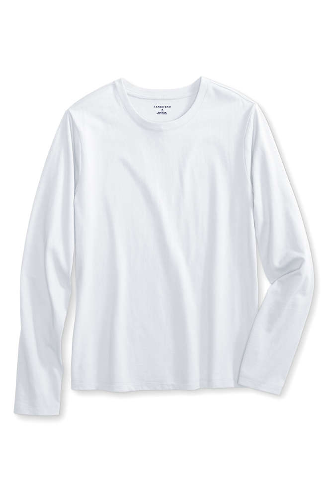 School Uniform Girls Long Sleeve Essential T-shirt, Front