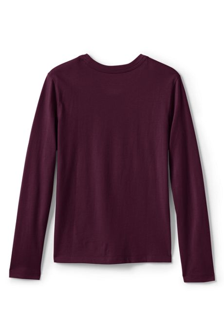 Girls Long Sleeve Fem Fit Essential Tee