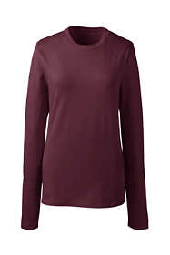 School Uniform Women's Long Sleeve Fem Fit Essential Tee