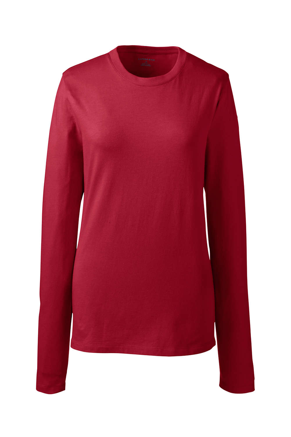 6331457c Women's Long Sleeve Essential T-shirt from Lands' End