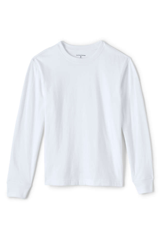 Boys Long Sleeve Essential T-shirt, Front