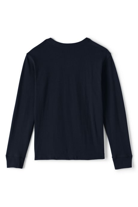 School Uniform Boys Long Sleeve Essential Tee