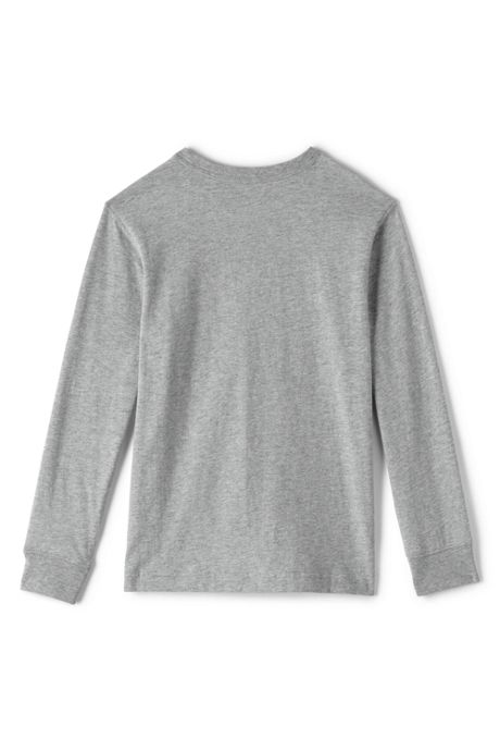 Little Boys Long Sleeve Essential Tee