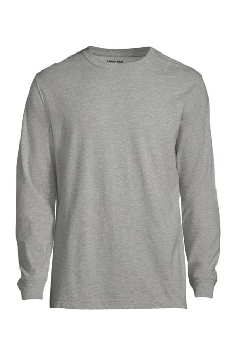 School Uniform Men's Long Sleeve Essential Tee