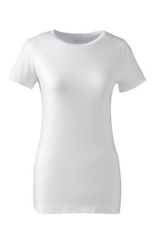 Women's Cotton/Modal Crew Neck Tee