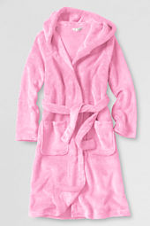 Girls' Hooded Fleece Robe