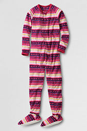 Girls' Fleece Sleeper