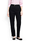 Women's High Rise Back-Elastic Baby Cord Trousers