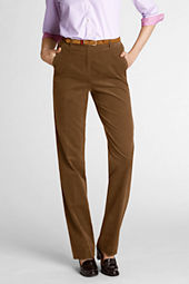 Women's Fit 3 Elastic Back 21-wale Corduroy Pants
