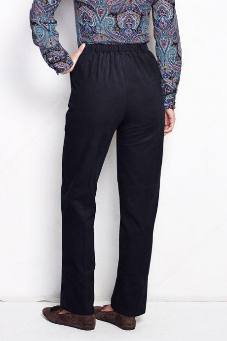 Women's Tall 7 Day Elastic Back Corduroy Pants