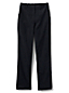 Women's High Waisted Trousers, Back-Elastic Baby Cord