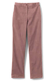 Women's Petite 7 Day Elastic Back Corduroy Pants