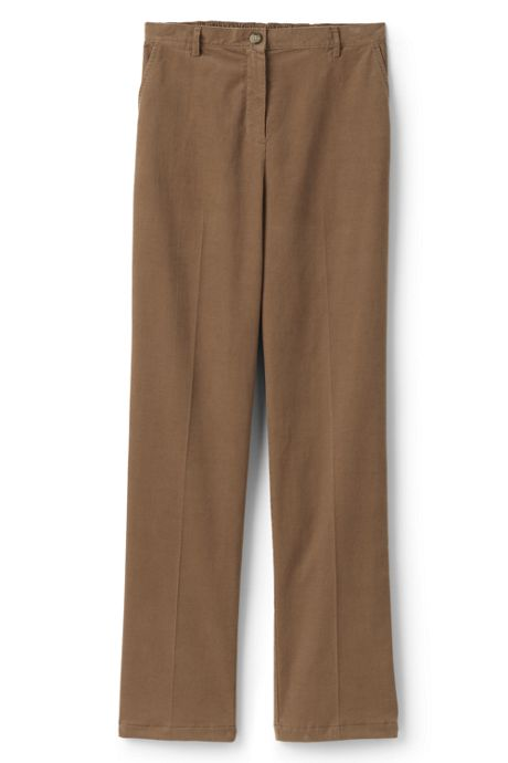Women's Tall 7 Day Elastic Back Corduroy Pants