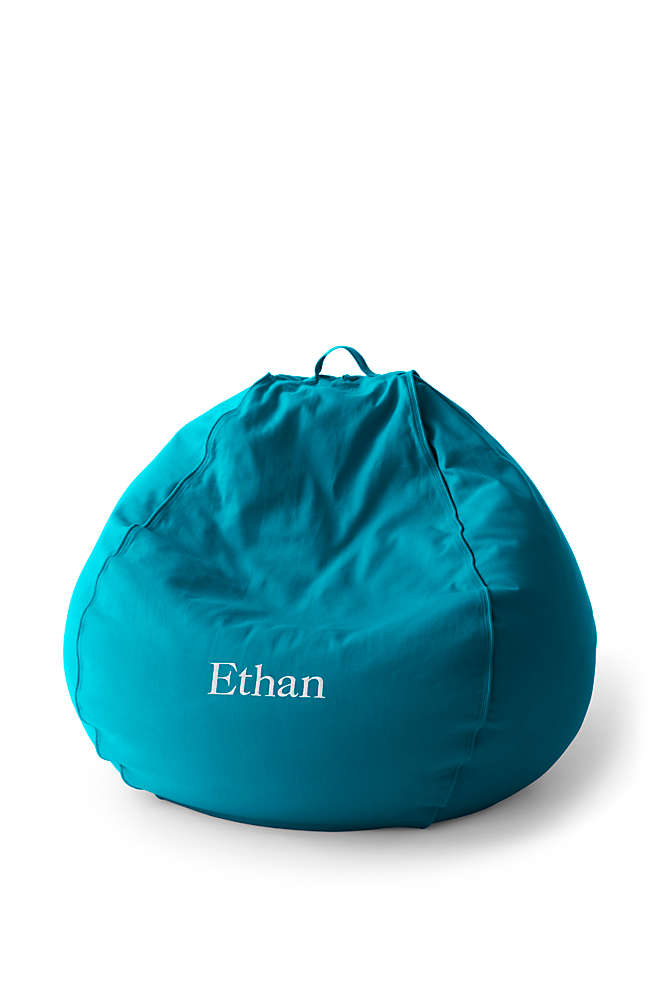 Junior Solid Bean Bag Cover, Front