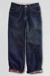 Boys' 5-pocket Flannel-lined Jeans