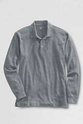 Men's Tailored Fit Long Sleeve Pima Polo Shirt