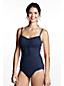 Women's Beach Living D-cup Scoop Neck Adjustable Tankini Top