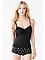Women's Beach Living DD-Cup  Adjustable Scoop Neck Tankini Top