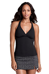 Women's Beach Living V-neck Tankini Top