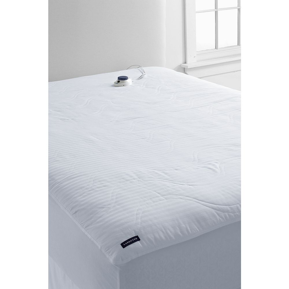 Lands' End Water Resistant Heated Mattress Pad at Sears.com