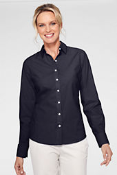 Women's Long Sleeve No Iron Stretch Shirt