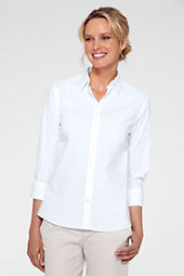 Women's 3/4-sleeve No Iron Stretch Shirt