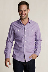 Violet Chambray Engineer Strip