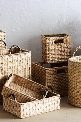 Seagrass Storage Medium Basket