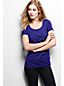 Women's Regular Cotton/Modal Scoop Neck Tee
