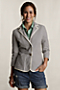 Women's Seersucker Jacket from Lands' End :  striped spring jacket blazer