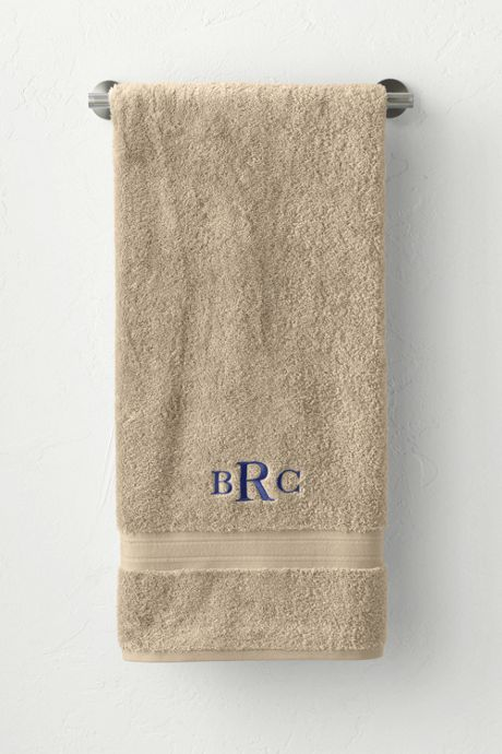 Supima Bath Towel Holiday Home Monogrammed Personalized