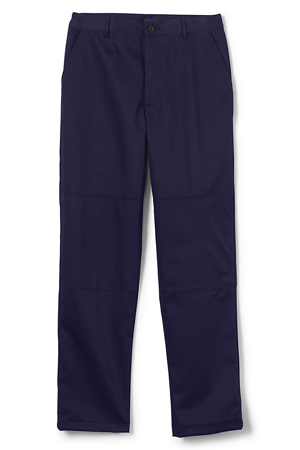 Lands' End Men's Unfinished Plain Twill Pants