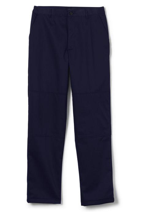 Men's Big Unfinished Plain Twill Pants