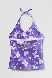Toddler Girls' Bow-tie Tugless Tankini Top