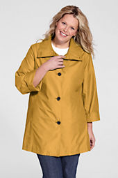 Women's Plus Size SunShower Swing Coat