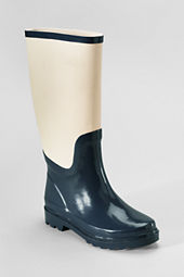 Women's Canvas Shaft Wellie Boots