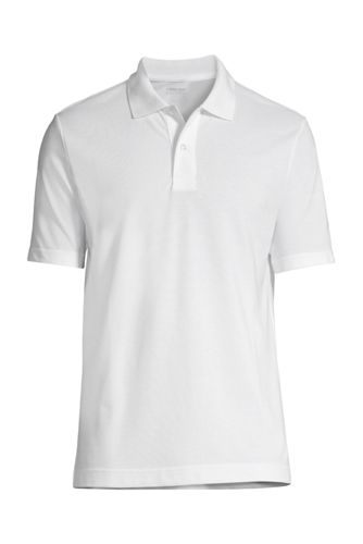 School Uniform Men's Big Short Sleeve Basic Mesh Polo
