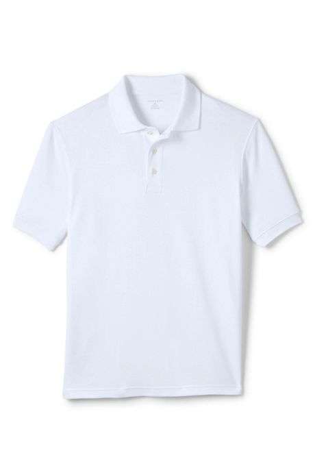 Men's Big Basic Interlock Polo