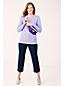 Stretch-Freizeithose in 3/4-Länge für Damen