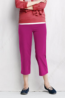 Women's Starfish Refined Stretch Jersey Straight Leg Crops