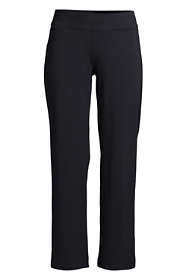 Women's Plus Size Starfish Elastic Waist Pull On Crop Pants