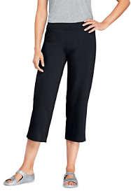 Women's Tall Starfish Elastic Waist Pull On Crop Pants