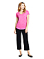 Women's Starfish Straight Leg Cropped Trousers