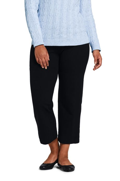 Women's Plus Size Starfish Capri Pants