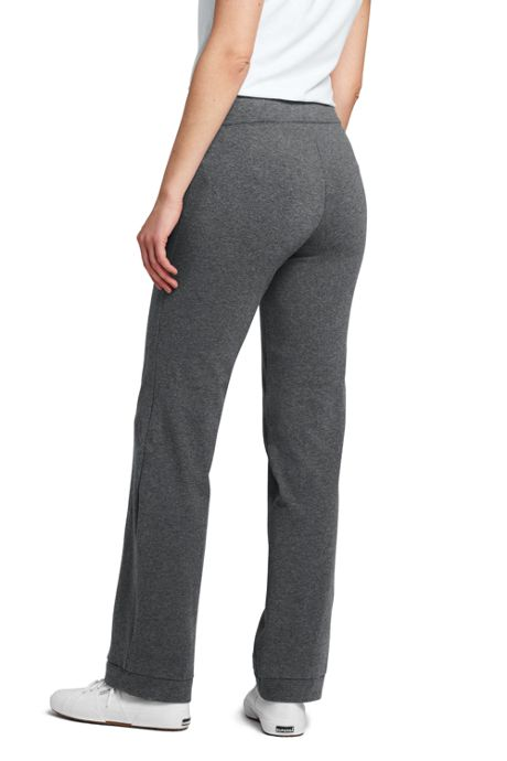 Women's Starfish Elastic Waist Pants Mid Rise