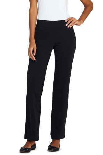 Visit Where To Buy Cheap Real Womens Petite Starfish Straight-leg Stretch Jersey Trousers - 10 12 - BLACK Lands End From China Online pUslDpkQcZ