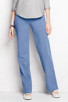 Women's Starfish Refined Stretch Jersey Straight-leg Trousers