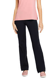 Women's Tall Starfish Straight Leg Elastic Waist Pants Mid Rise